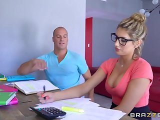 Brazzers - Sexy nerd Ceremonial Ames needs a study bankrupt