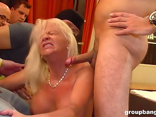 GroupBanged - Milf Groupbanged Tot Aniko Loves To Squirt