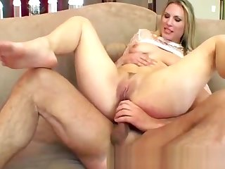 Four huge dicks break a hot blondie down two with deep dp