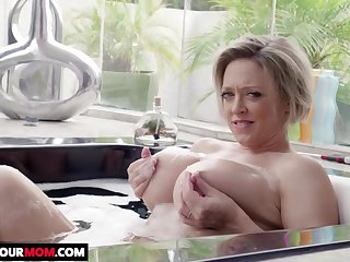Hotness Wife Sucking And Make Have a crush on Her Lover - dee williams
