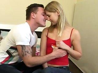 Teen brunette amateur couple webcam Great practical joke