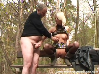 Outdoor fucking in the local boondocks anent unpractised tits Zdenka a