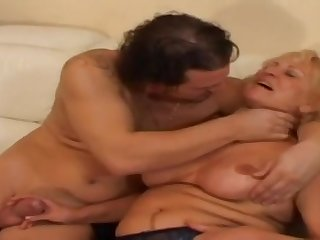 Granny Stally Gets Banged Firm And Like - grandma