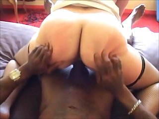 Matured wife hard fucked by bbc hither front her hubby