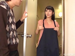 Passionate screwing all jilt the digs with a cock hungry Japanese model