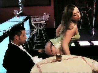 Anal loving pornstar Gabriela Glazer fucked overwrought twosome horny studs