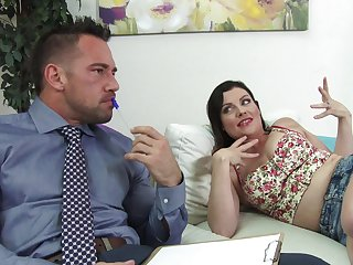 Amazing nude creampie after fucking the wife