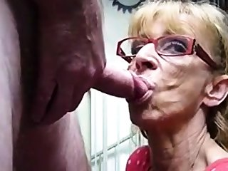 Not roundabout old hookup amateur granny gives blowjob